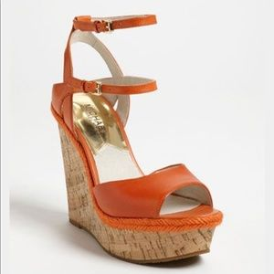 🍊 MICHAEL MICHAEL KORS Tangerine Axton' Sandal
